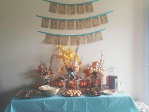 Norah's party banner